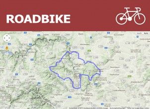 Roadbike - Medium 58 km/922 Hm