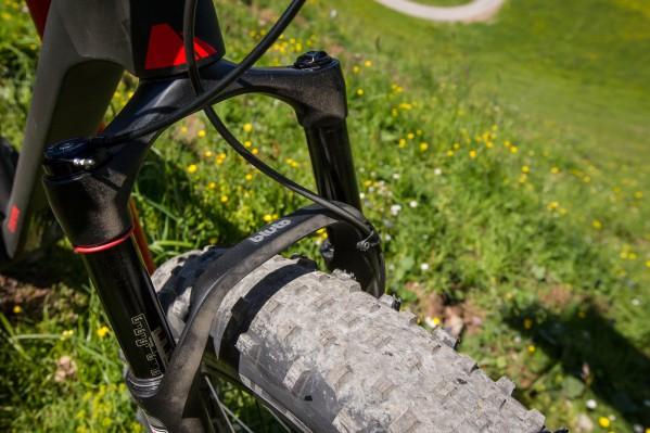 ... und Schwalbe Jumbo Jim auf leichten DT Swiss BR 2250 Laufrädern.