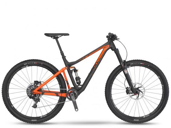 Das Trailfox TF02 mit X01 Ausstattung ...