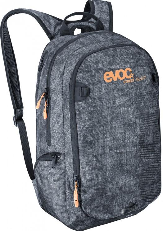 Der Street-Rucksack mit Helmhalterung sowie Notebook- und Kamera-Fach ergänzt die Serie für Reise und Alltag.