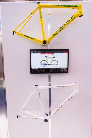 Im Customzer kann man sich sein Traumrad online erstellen.