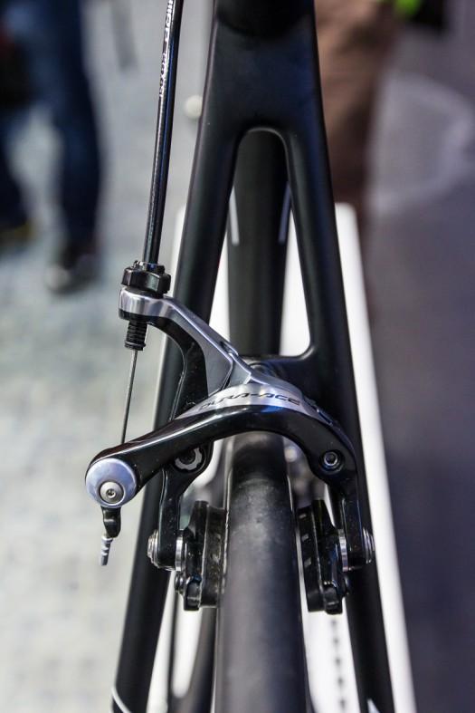 Reifenfreiheit bis 28 mm sorgt für Komfort.