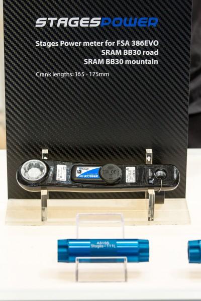 Erstmals wird es auch ein Stages gebrandetes Powermeter geben.
