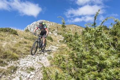 Herbstbiken in Istrien