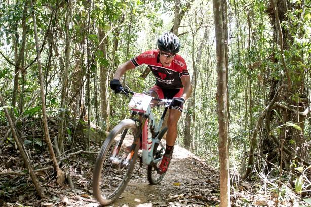 Brendan Johnston, bester Australier im Dschungel von Smithfield.