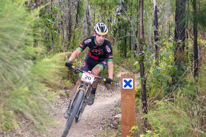 Der Gosauer Lukas Islitzer unterwegs zu einem weiteren Top-Ergebnis.