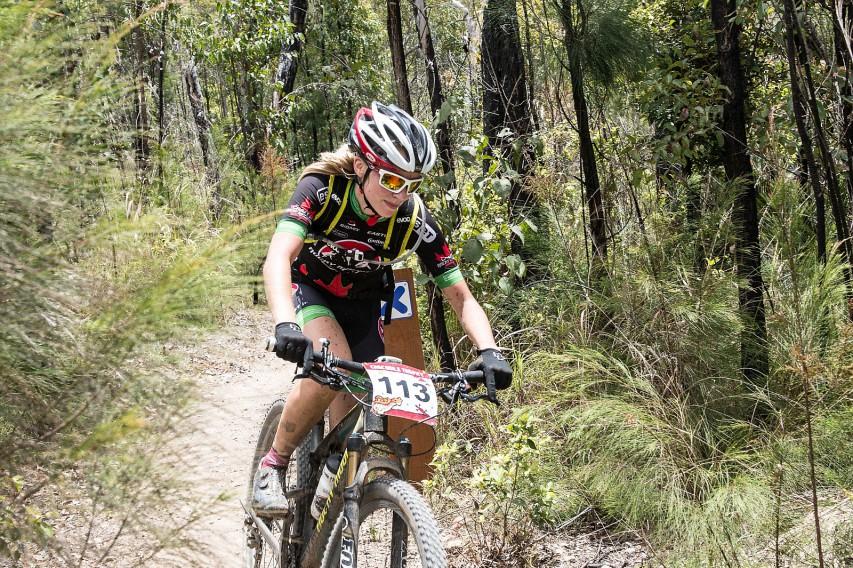 Die zweite Elitefahrerin Regina Genser wurde von der Amateurin Kristin Endres im inoffiziellen Gesamtklassement überholt.