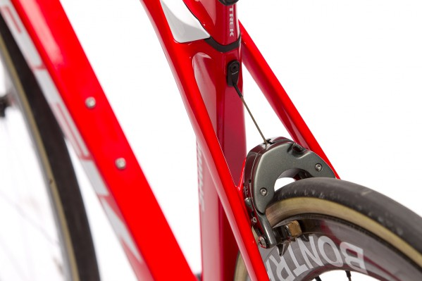 Klassische Hinterradbremsen-Position