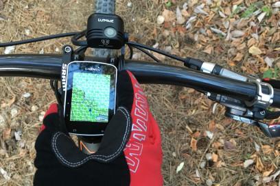 Die Kartendarstellung erlaubt trotz ihrer Größe effizientes Navigieren
