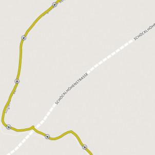 am Bike und im flacheren Gelände meist perfekt am Trail