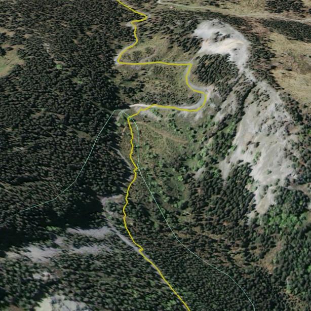Fadensteig Details in Google Earth