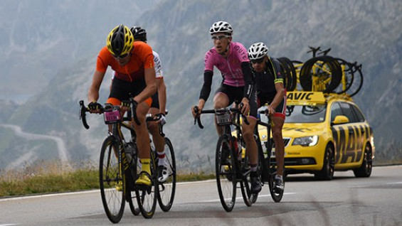 Haute Route im Team Mavic