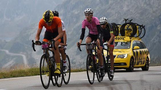 Haute Route im Team Mavic