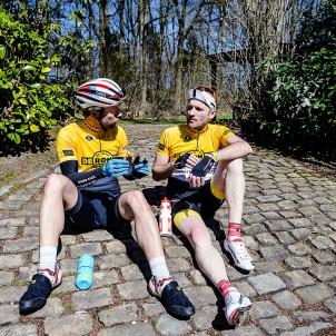 Torsten und Felix, unsere Roadbike-Kollegen.