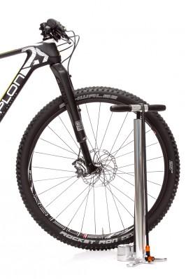 stilvolle Pumpe fürs edle Bike