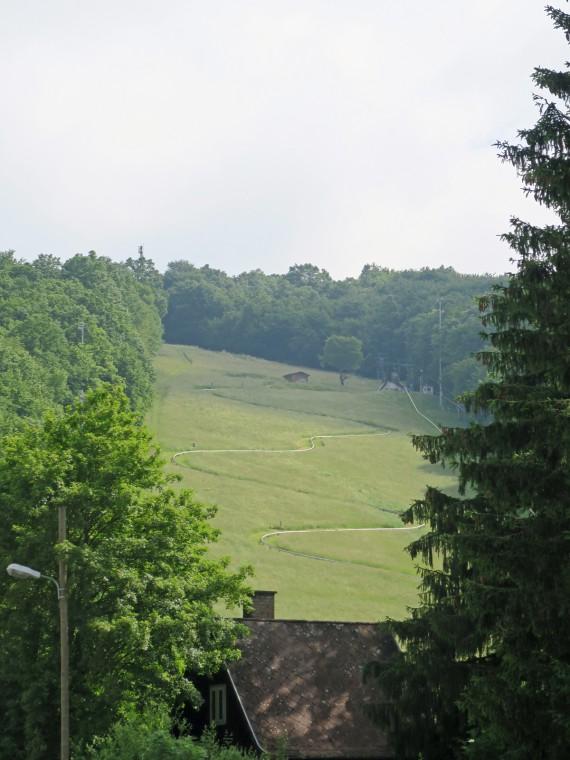 Rodelwiese kommen SIngletrails.