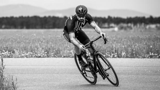 Black & White Cycling Gear