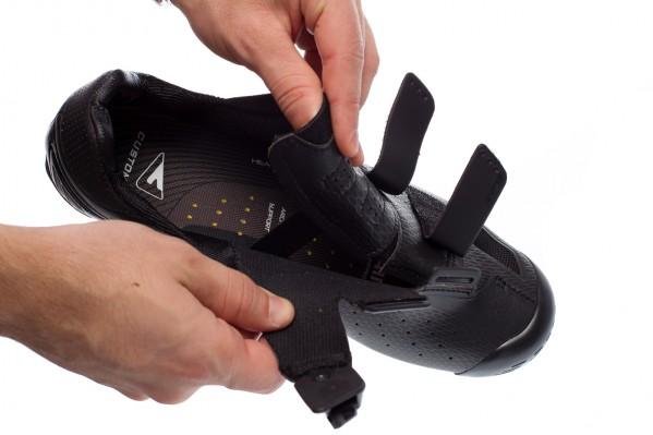 Thermoplastische Innensohlen stützen den Fuß und bieten festen Halt,antibakteriell mit Minz-Aroma.
