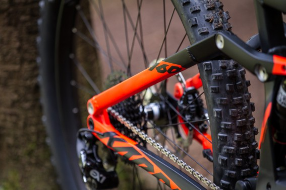 """Die Plus-Reifen kommen bei allen neuen KTM Bikes in 2,8""""."""