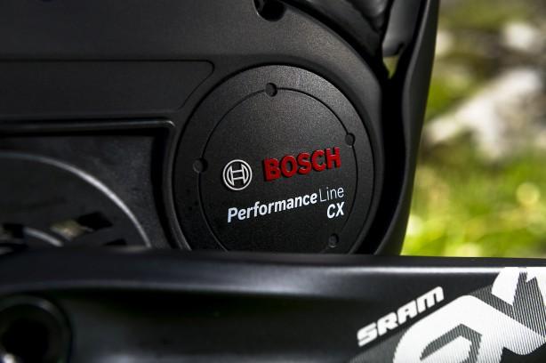 Die gesamte Powerfly Plattform basiert auf Boschs CX Antrieb.