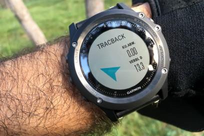 auf Kurs bei 13.3 km verbleibend