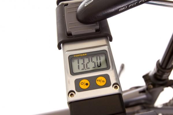 Gewicht mit Magura Trail Carbon: 13,25 kg (60 Gramm gespart im Vergleich zur SRAM Guide Ultimate)