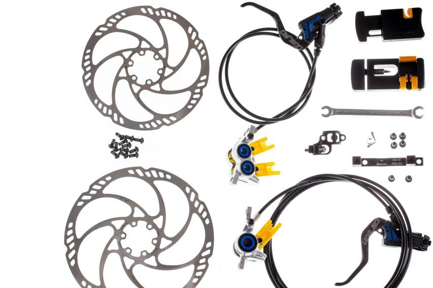 Benötigtes WerkzeugOffener Ringschlüssel 8, Drehmomentschlüssel mit Torx 25,Torx 25 Schlüssel, Bremsleitungsschneider (z.B. Jagwire Schneidwerkzeug Sport für Bremsleitungen), Einpresswerkzeug (z.B. Jagwire Needle Driver)