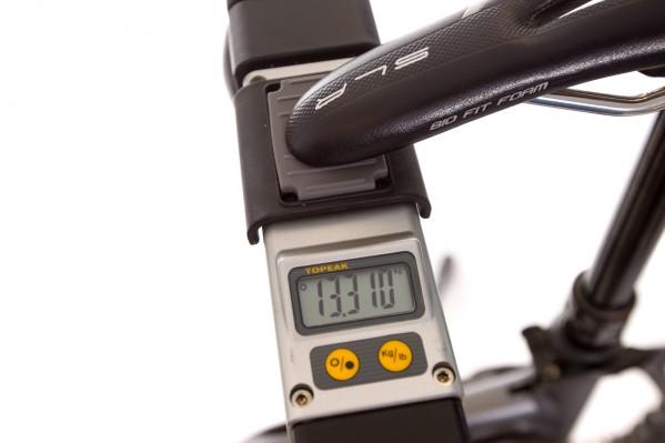 Gewicht vor Umbau: 13,31 kg mit SRAM Guide Ultimate