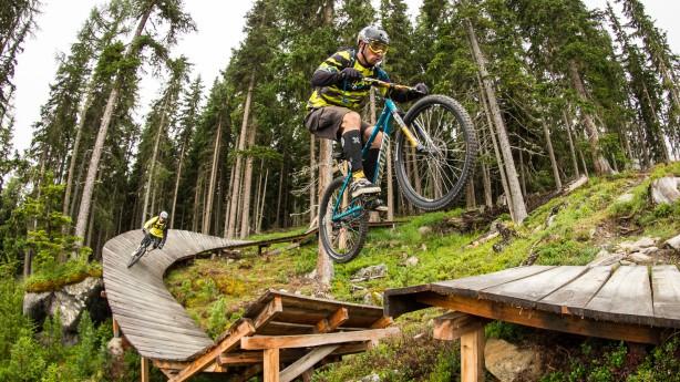 Bike Trails in Sölden Part II