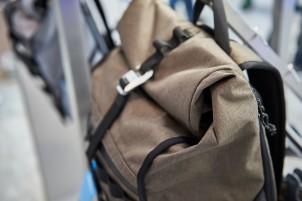 Den Rucksack mit Rollverschluss und Ergo-Trägern gibt's ...