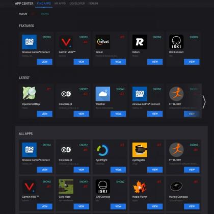 viele Apps