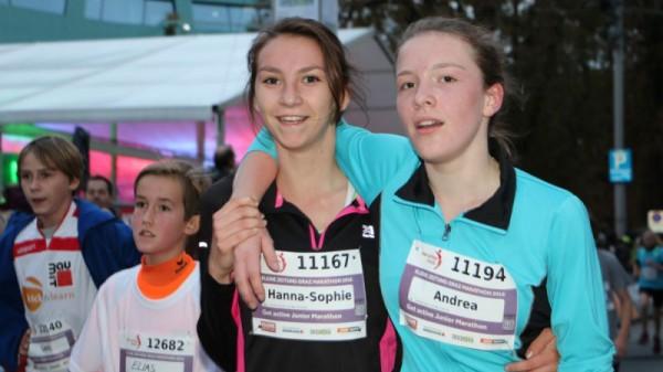 Graz Marathon und Tag 1 - Das Lauffest für alle Kids und Junioren