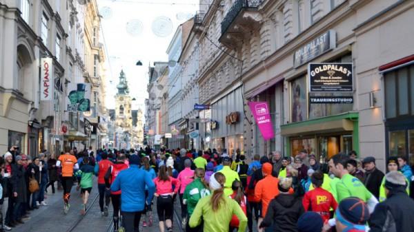Silvesterlauf - der sportliche Jahresausklang in Linz