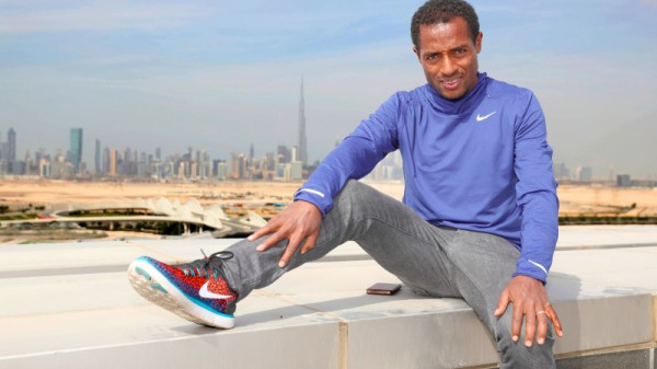 Kein Weltrekord beim Dubai Marathon