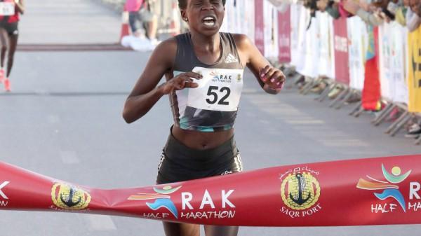 Neuer Weltrekord der Damen beim RAK-Halbmarathon